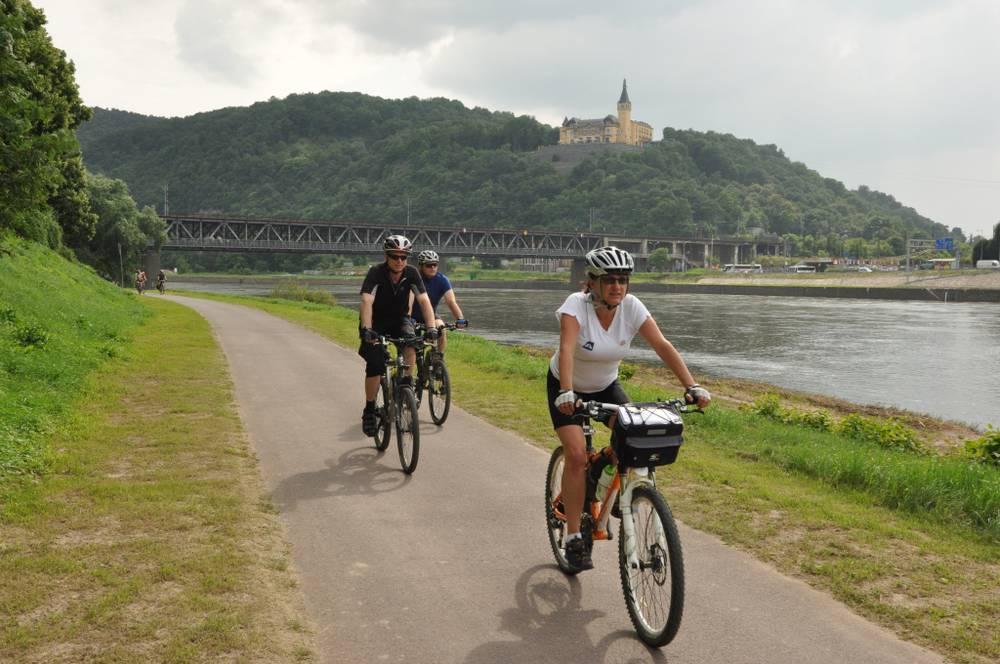 مغامرة من براغ إلى دريسدن بالدراجة الهوائية