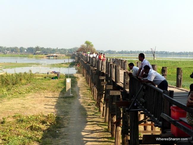 جسر U-Bein ماندالاي