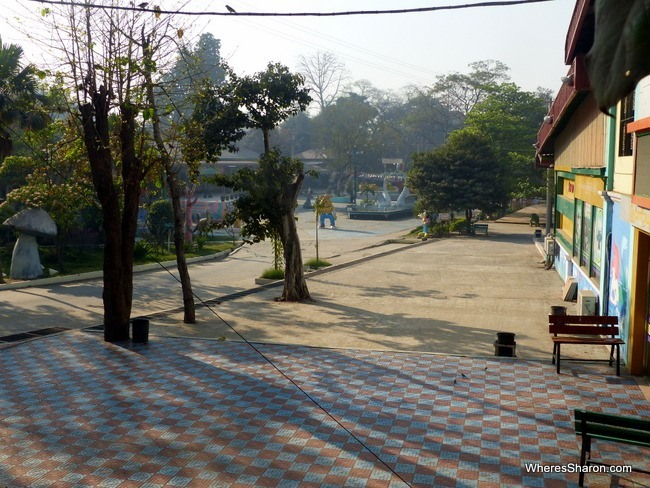 حديقة المدينة ماندلاي ميانمار