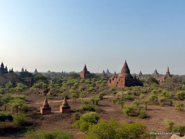 قائمة المعابد في باغان بورما والمسلمين
