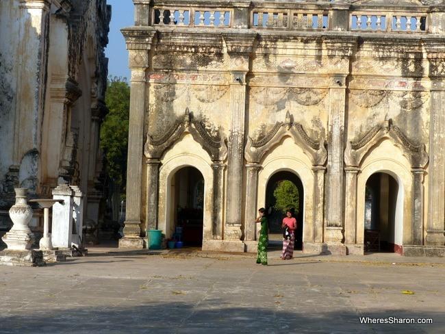 معبد Ananda Pahto و اين تقع بورما