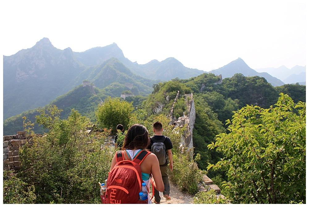 رحلة استكشاف سور الصين العظيم