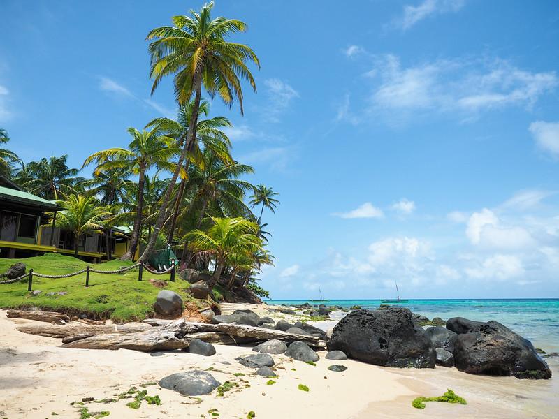 جزيرة ليتل كورن في نيكاراجوا