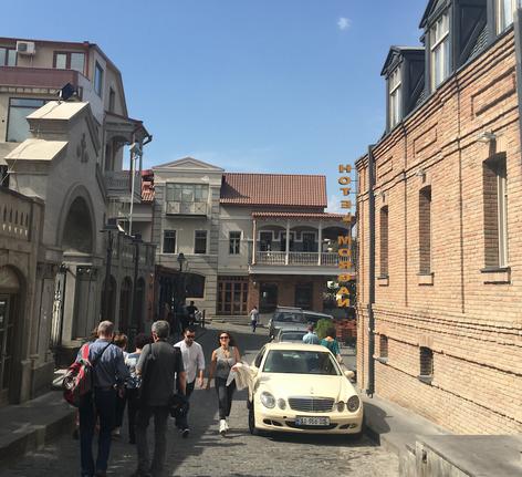 التسوق في تبليسي