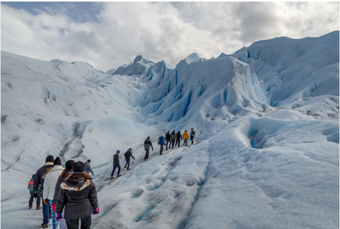 تسلق الانهر الجليدية في الارجنتين