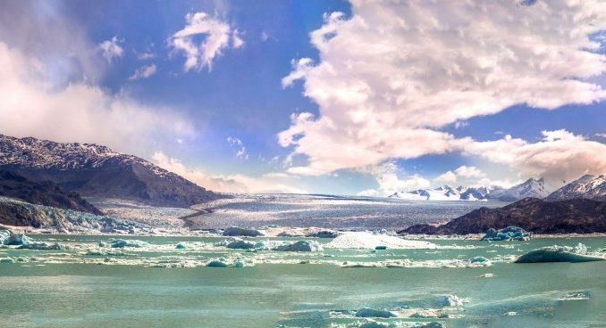 انهار باتاغونيا الجليدية