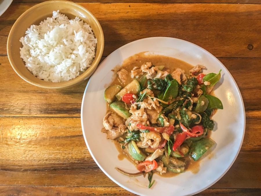 الأكل التايلندي في بانكوك