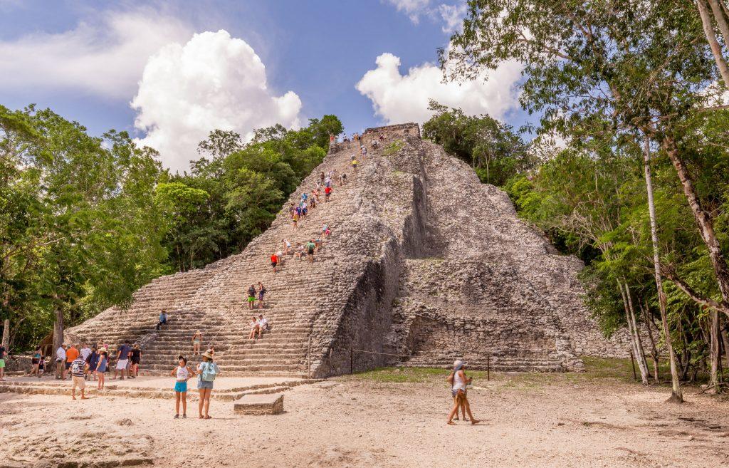 اطلال مايا القديمة في المكسيك