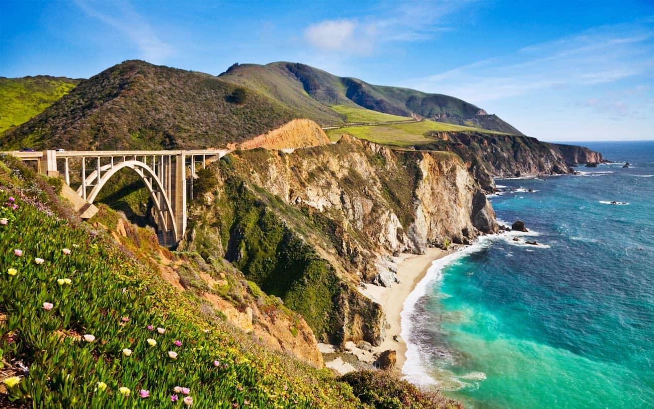 الدليل الشامل للسفر عبر ساحل المحيط الهادئ كاليفورنيا