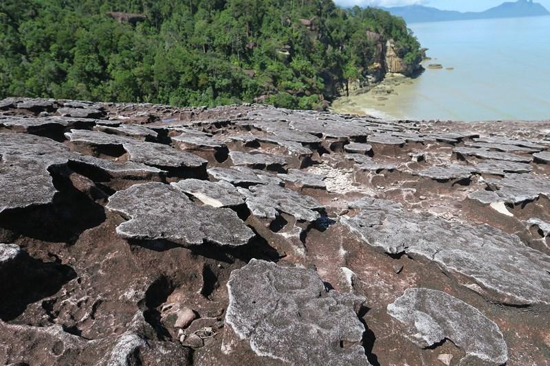 صخور بركانية