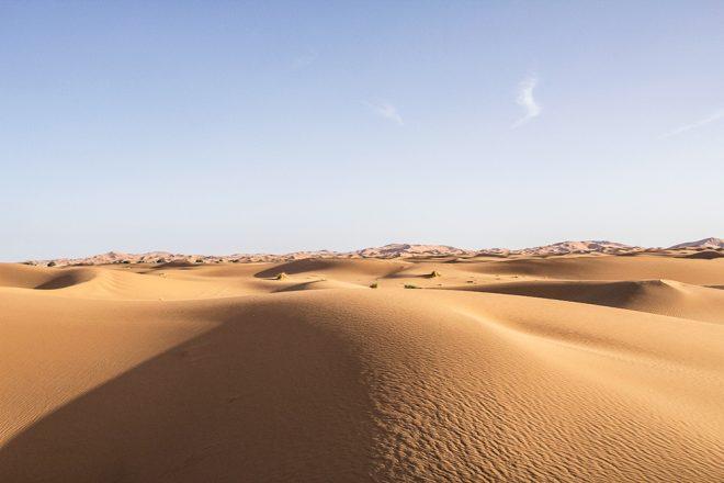 صحراء المغرب