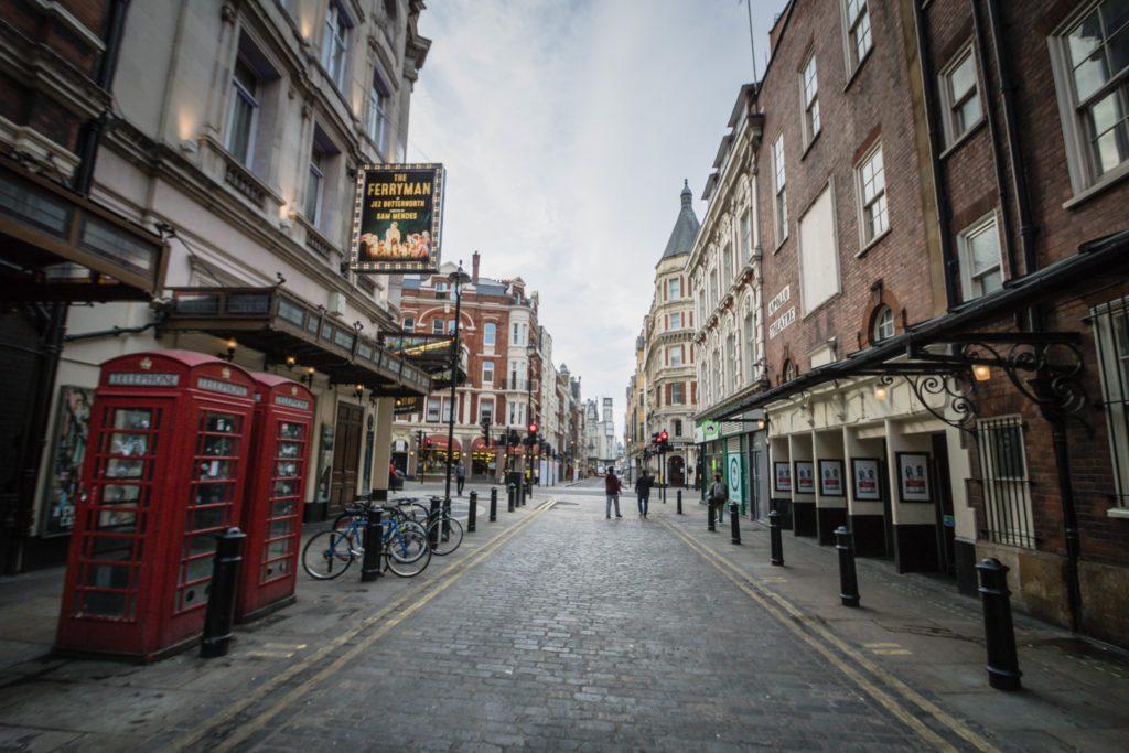 رحلتي الى لندن في الشتاء