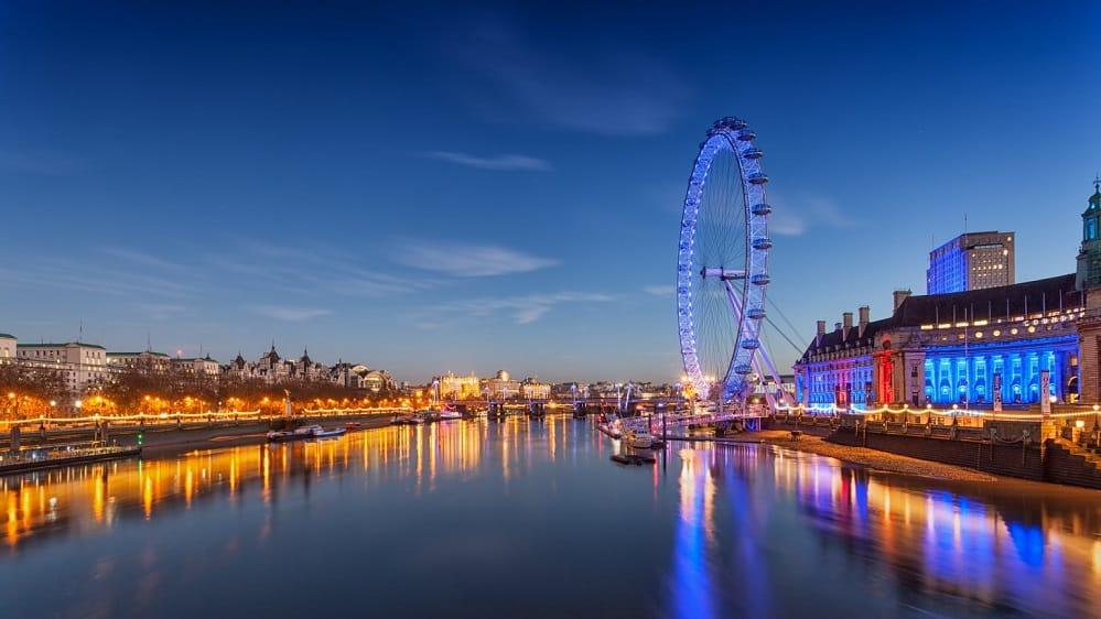 رحلتي إلى لندن