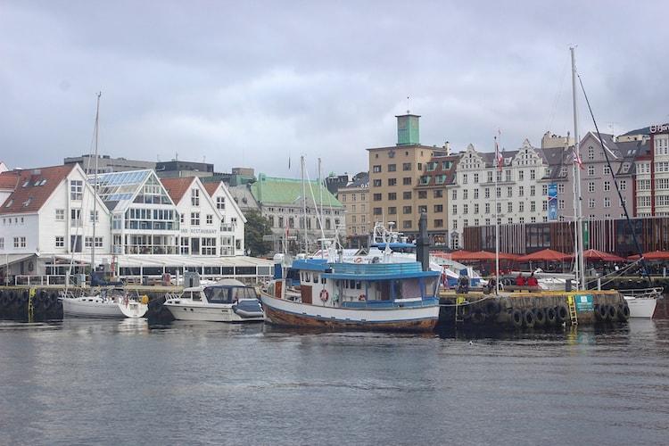 مدينة بيرغن النرويج