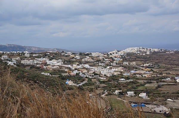 صورة لجزيرة سانتوريني