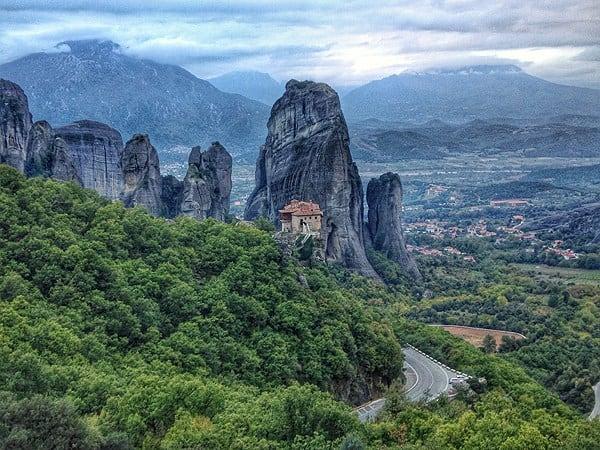 دير ميتورا في اليونان