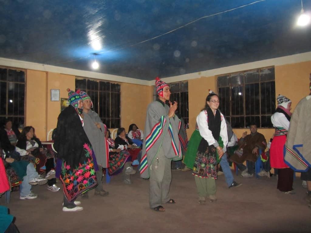 شعب جزيرة امانتاني في البيرو