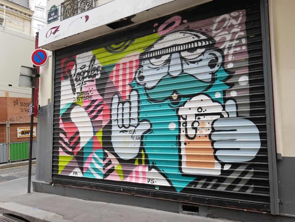 شارع الفن في باريس